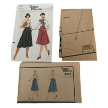 Vogue Sewing Pattern 9274 Vintage Misses A-Line Skirt Sz 26.5 Knee Lengt... - $17.99