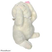 Russ Berrie White Easter Bunny Rosey Rabbit Flower Plush Stuffed Animal ... - $19.80