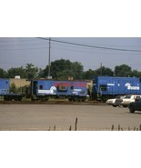 Conrail Class N 9 18350 N21 21277 1997 Indy Indiana 2 Original 35mm Slides - $14.84