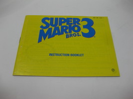 Super Mario 3 - NES Nintendo - Manual Only - $12.99