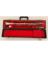 Antique HN White The Gladiator Silver Nickel Clarinet Sold As Not workin... - $327.24
