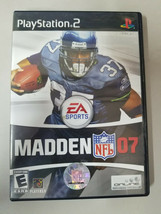 Madden 2007 Playstation 2 PS2 Complete - $4.46