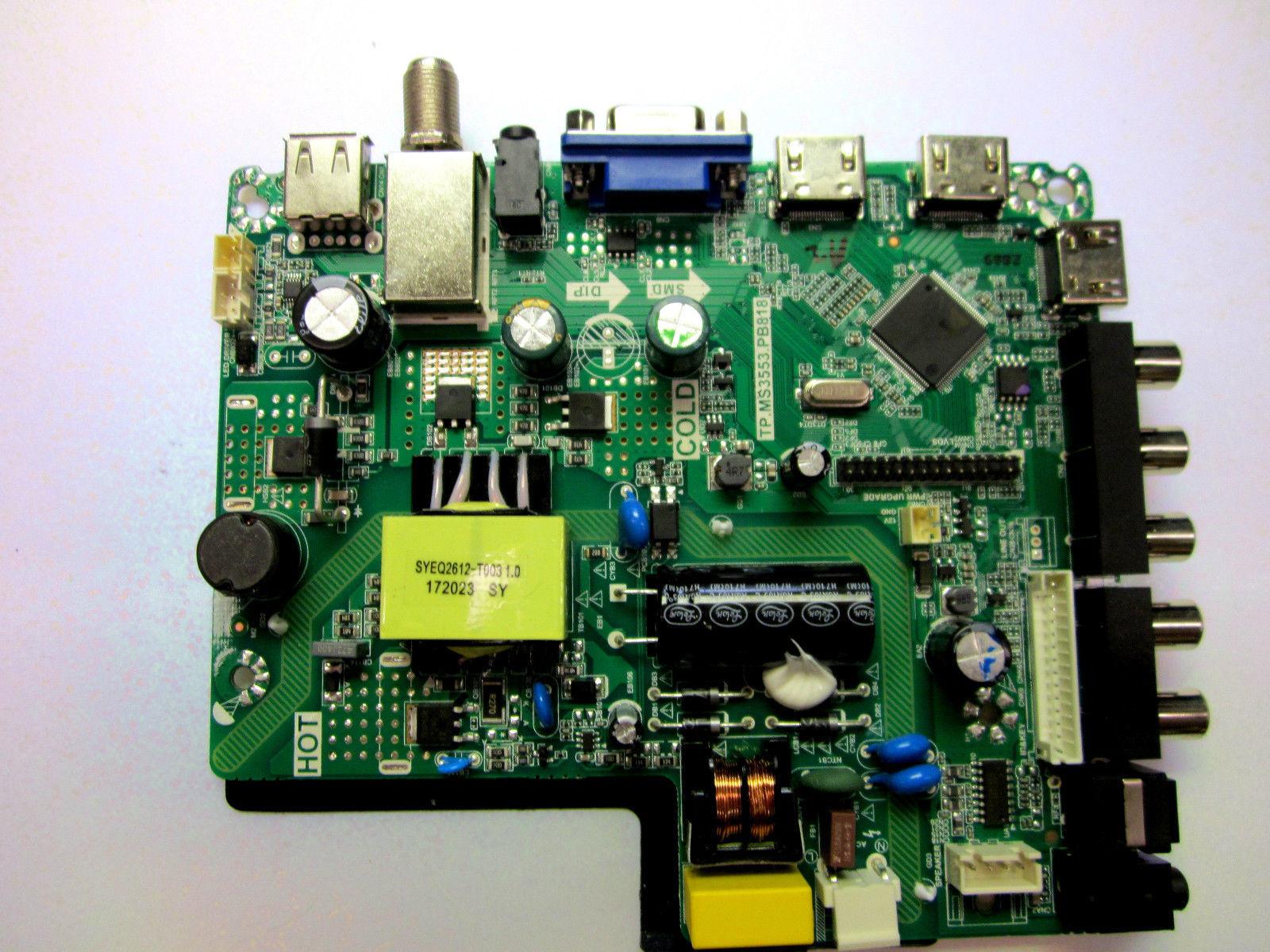 "RCA 32"" RTC328 U17072869 TP.MS3553.PB818 LSC320AN10 Main Board / Power Supply"