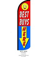 Best Buys Here King Size Windless 38 x 138 in Polyester Swooper Flag  - $15.83