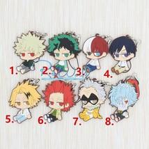New My Hero Academia Boku no Hero Akademia Keychain Anime Rubber Strap - $8.79