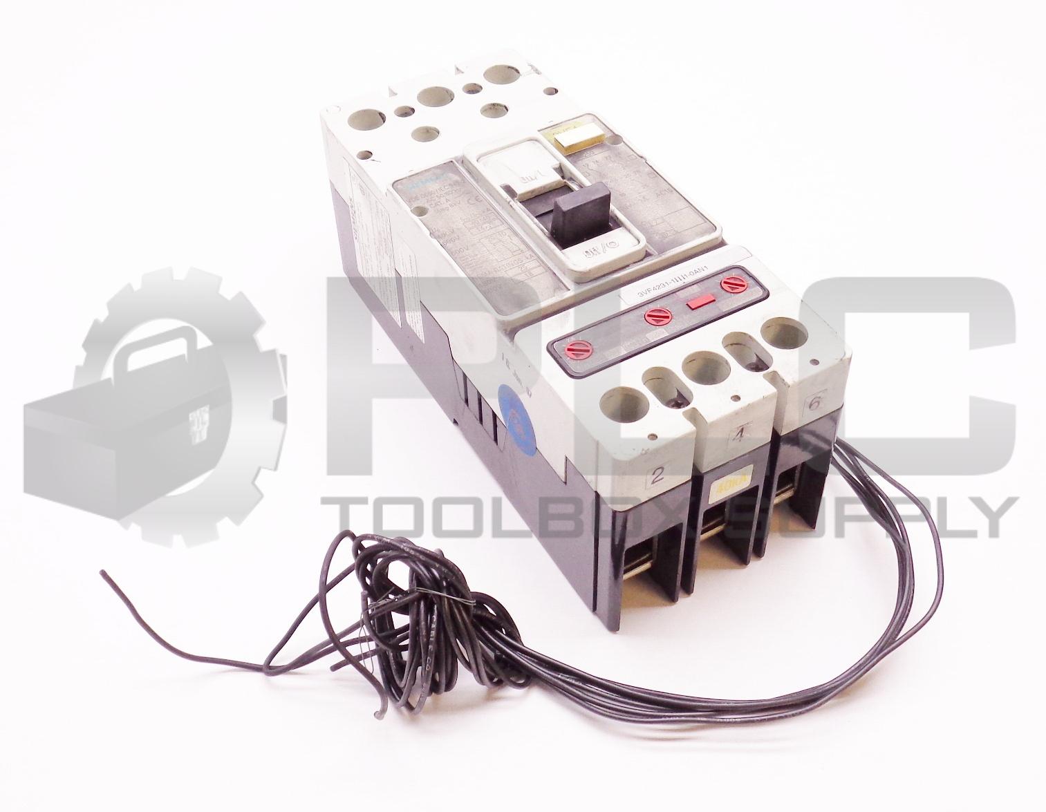SIEMENS 3VF4231-1DF41-0AN1 CIRCUIT BREAKER VDE 0660/IEC 947-2 - $455.00