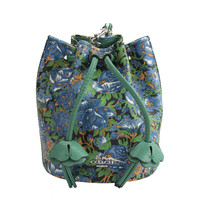 NWT Coach 57600 Rose Meadow Floral Large Drawst... - $82.12