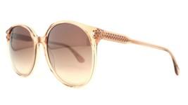 New Bottega Veneta Bv 277S 54POH Clear Brown Authentic Sunglasses 56-19-140 DD17 - $94.80