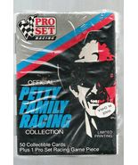 PETTY FAMILY RACING 50 TRADING CARD SET 1991 Mint in Package  - $4.95