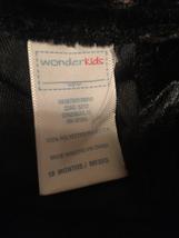 Girls Wonderkids black dress sz18m sec669 - $9.90