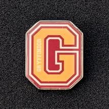 Harry Potter Lapel Pin: Gryffindor G Varsity Letter - $24.90