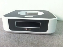 iHome iAVS1 Docking Bedside Speaker White No Power Cord & Center Piece - $72.08 CAD