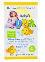 5 Pack Liquid Baby's DHA EPA 1050 mg Omega 3s Fatty Acids + Vitamin D3 2... - $62.89