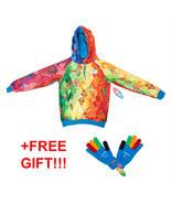 Volunteers Paralympic Games Sweatshirt Hoodie Jacket Gloves Sochi 2014 S... - $116.62