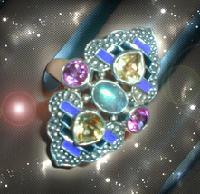 HAUNTED RING ALEXANDRIA'S FOLLOW MY PATH TO SACRED POWER OOAK SCERET MAGICK  - $5,307.77