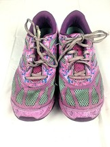 ASICS Gel Noosa Triathlon Shoes Ladies 6 Pink Blue Purple - $35.06