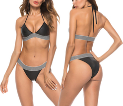 Women Sexy Push Up Two Pieces Bikini Set - $21.99