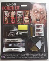 Horror Face Kit Zombie Monster Vampir Skeleton Halloween Makeup Family Size - $11.17