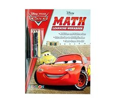 Disney Cars Math Learning Book with Pencils - $3.29