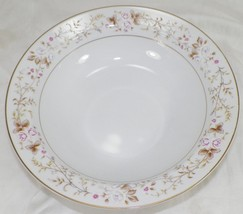 "Mikasa Rose Crest 9"" Serving Bowl In Excellent Condition -F12 - $17.99"