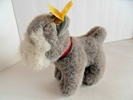 Steiff dog terrier schnauzer miniature all IDs made in Germany 2066 - $37.99