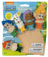 "Bubble Guppies Bath Time Finger Puppets Set Of 5 Tub Water Toys New 2.5"" - $12.99"