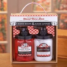 Apple Crisp Mason Jar Soap and Lotion Sets - $11.97