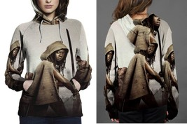 Hoodie women Zombie The Walking Dead Samurai - $41.70+