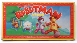 ROBOTMAN & FRIENDS, 1985 Parker Brothers, rare TV-based learning game fo... - $14.01