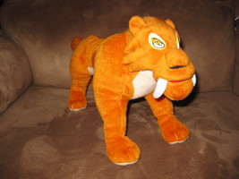 "ICE AGE DAWN of the DINOSAURS DIEGO TIGER New 2008 Licensed Plush 13"" NWT - $19.99"