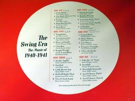 The Swing Era Records 33 1/3 RPM Capitol AA-191700 Vintage Collectible image 8
