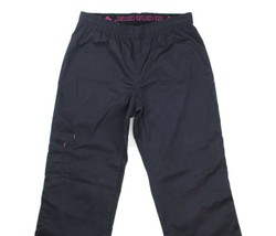 Med Couture Womens EZ-Flex Black Scrubs Cargo Pocket Medical Pants Nurse size XS - $18.80