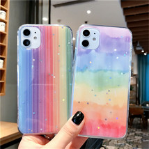 Phone Case Glitter Bling Stars Colorful For Huawei P40 Lite P30 P20 Pro Mate 30 - $4.30+