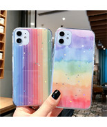 Phone Case Glitter Bling Stars Colorful For Huawei P40 Lite P30 P20 Pro ... - $4.30+