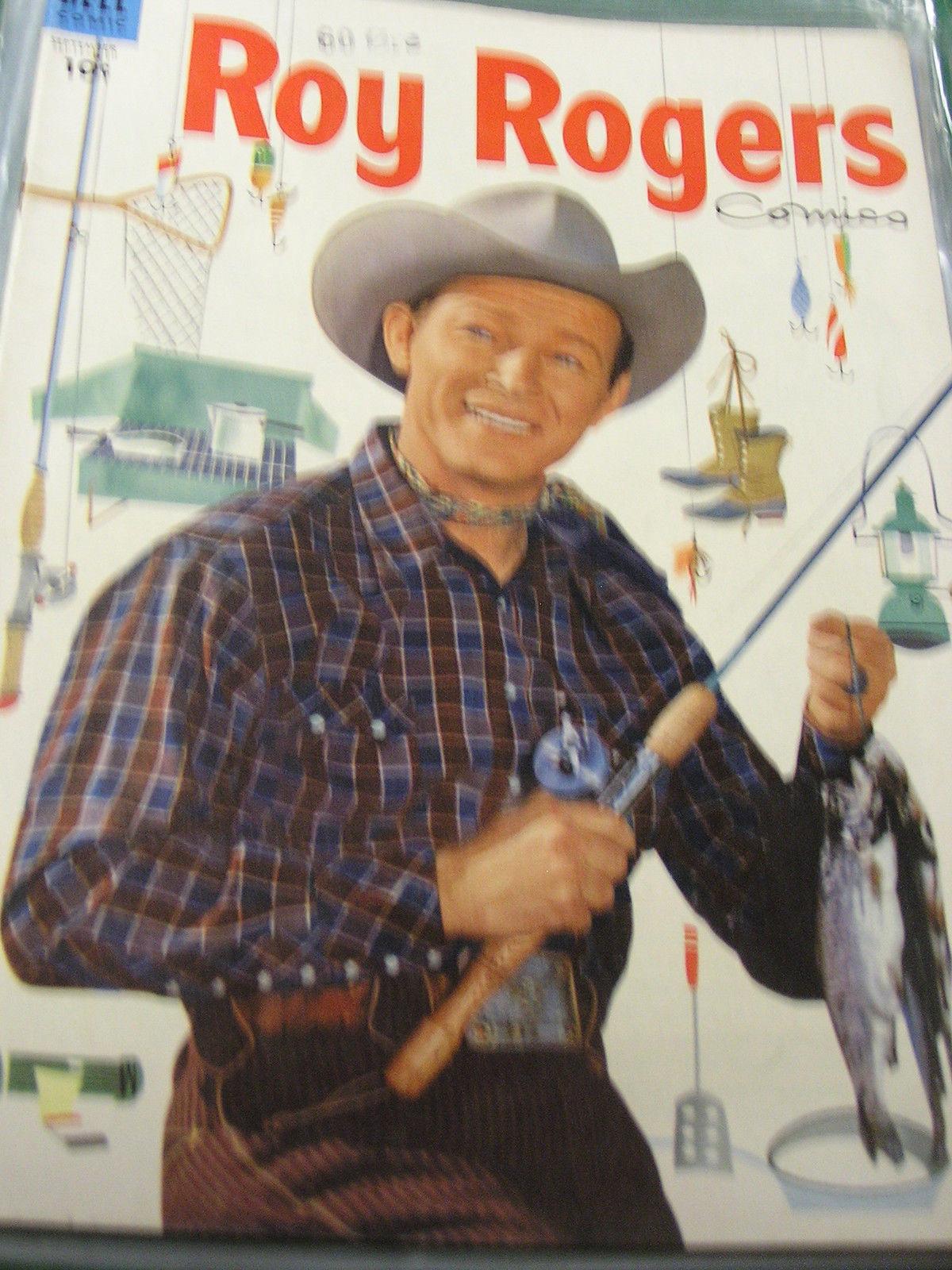 Vintage Comic-ROY ROGERS Sept.  1954 No.81................FREE POSTAGE USA - $13.57