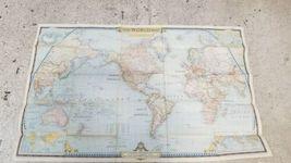 Vintage Lot (22) National Geographic Map World 1949 - 1955 image 3