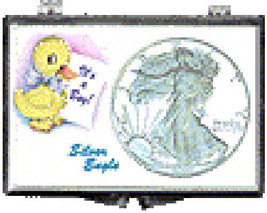 ASE 2x3 Snap Lock Coin Holder Display, It's A Boy-Duck, 3 Pack - $5.89