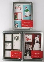Lot of 3 Pack 75 Count Peel & Stick Holiday Christmas Gift Tags To From Stickers image 1