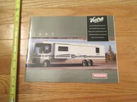 Winnebago Motorhome Vectra Grand tour 1997 RV Vintage Dealer sales brochure - $14.99