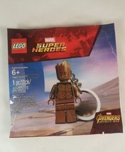 Lego Minifigure Teen Groot Keychain NEW! Marvel Super Heroes Avengers  - $6.92