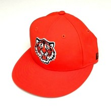 New Era Detroit Tigers 59Fifty 2018 BP Prolight Fitted Hat Orange Size 6... - $34.65
