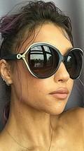 New Elegant Christian DIOR Diorelle1 6MVPT Blue Oversized Women's Sunglasses  - $275.99