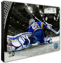 Jordan Binnington 2018-19 St. Louis Blues- 16x20 Spotlight Photo on Canvas - $94.95