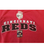 Vintage Majestic Cincinnati Reds 5 World Series Cooperstown Collection T... - $10.39