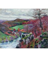 Landscape of the Creuse, 1910 02 - 40x50 inch Canvas Wall Art Home Decor - $159.00