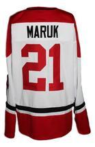 Any Name Number Cleveland Barons Retro Hockey Jersey New White Maruk  Any Size image 2