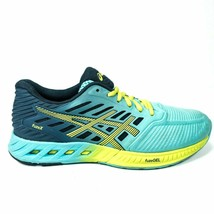 Asics FuzeX Running Shoes Womens Size 7.5 Training Sneakers Blue Yellow - $69.99