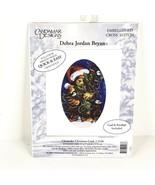 Candamar Designs Embellished Cross Stitch Kit Chickadee Christmas Card 5... - $9.99