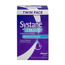 Alcon Systane Balance Lubricant Eye Drops,0.33 oz, Twin Pack - $28.04