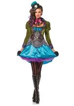 Leg Avenue de Luxe Chapelier Fou Adulte Pays Des Femmes Halloween Costume 85505 - $75.92